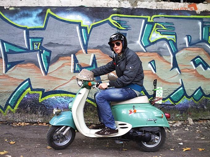 Стайлинг для скутеров фото